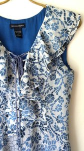 Boston Proper short dress Blue & White Summer Vacation Beach on Tradesy