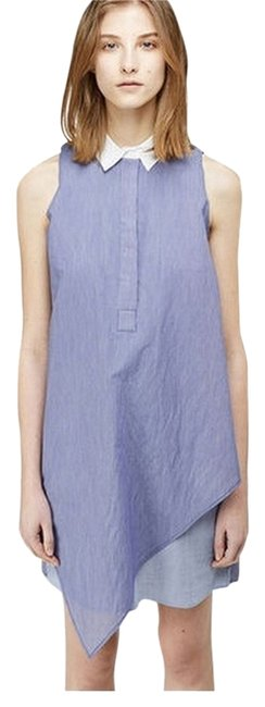 Preload https://img-static.tradesy.com/item/4178764/band-of-outsiders-blue-boy-by-thin-striped-sleeveless-shirtdress-knee-length-workoffice-dress-size-2-0-2-650-650.jpg