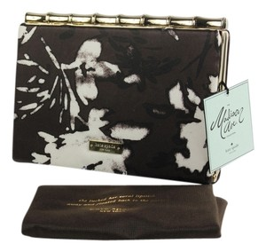 Kate Spade Brown/White Clutch