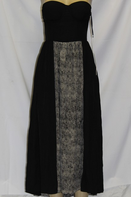 black Maxi Dress by Line & Dot