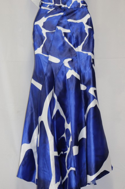 VENUS Skirt BLUE, WHITE AND CHARCOAL