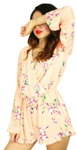 Honey Punch Romper Floral Summer Dress