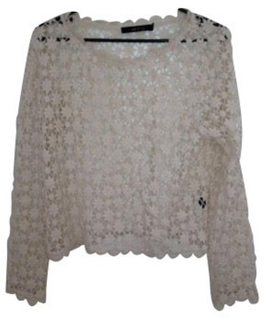 Preload https://item4.tradesy.com/images/ark-and-co-ivory-blouse-size-4-s-418-0-0.jpg?width=400&height=650