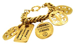Chanel Authentic Vintage Chanel 5 Charm Bracelet