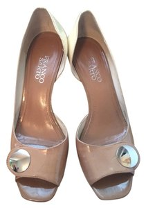 Franco Sarto Wedding Nude Wedges
