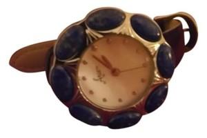 Aria Aria Lapis Lazuli Watch with Mother of Pearl Face
