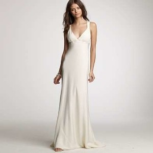 J.Crew Avery Gown In Silk Tricotine Wedding Dress