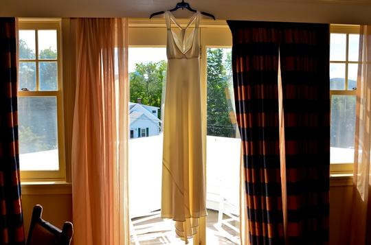 J.Crew Ivory Silk Avery Gown In Tricotine Casual Wedding Dress Size 6 (S)