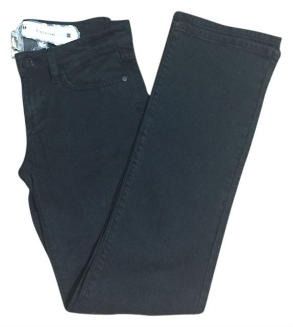 Preload https://item1.tradesy.com/images/bcbgmaxazria-black-lacquer-ctd2a797-807-straight-leg-jeans-size-28-4-s-4183420-0-0.jpg?width=400&height=650