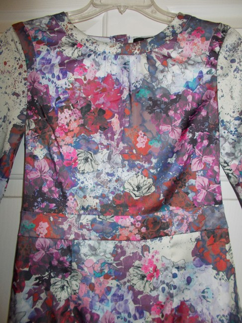 H&M short dress multi/floral on Tradesy
