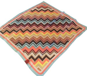 Missoni for Target Rare Missoni for Target Geometric Multicolor Scarf