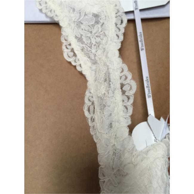 Watters Cream Lace Gown Vintage Wedding Dress Size 8 (M) Watters Cream Lace Gown Vintage Wedding Dress Size 8 (M) Image 11