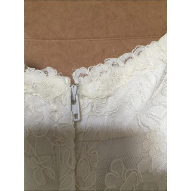 Watters Cream Lace Gown Vintage Wedding Dress Size 8 (M) Watters Cream Lace Gown Vintage Wedding Dress Size 8 (M) Image 9
