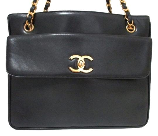 Chanel Hand Lambskin Leather Shoulder Bag