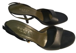 Gucci/Tom Ford Olive Green Mules