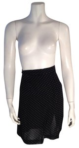 Un Apres Midi Size 0 Mini Skirt Black, White