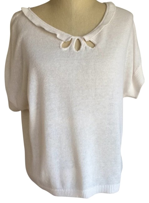 Preload https://item5.tradesy.com/images/anthropologie-cream-moth-sweaterpullover-size-8-m-4184689-0-0.jpg?width=400&height=650