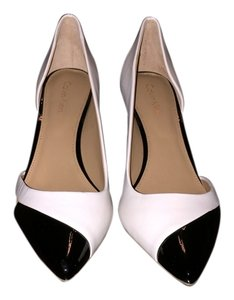 Calvin Klein Black/White Pumps