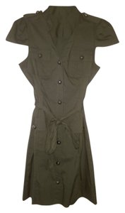Express Military-inspired Dress