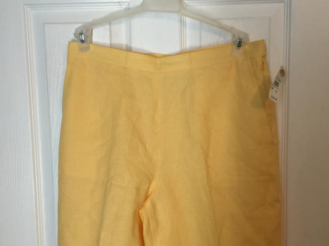 Talbots Trouser Pants Yellow