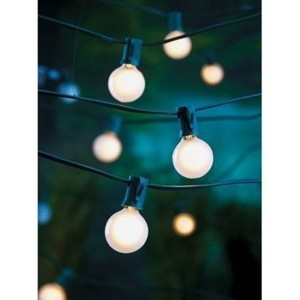 Target Globe Lights - Set Of 3 + Extra Bulbs Reception Decoration