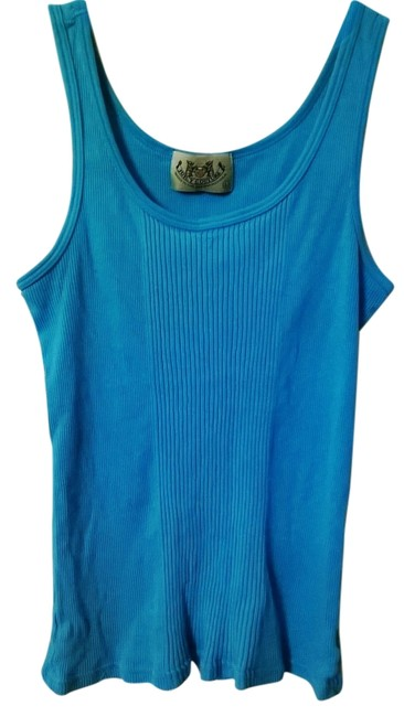 Preload https://item4.tradesy.com/images/juicy-couture-vintage-tank-top-aqua-4185868-0-0.jpg?width=400&height=650
