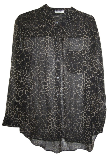 Preload https://item4.tradesy.com/images/equipment-black-and-tan-silk-shirt-tunic-abstract-print-blouse-size-12-l-4185883-0-0.jpg?width=400&height=650