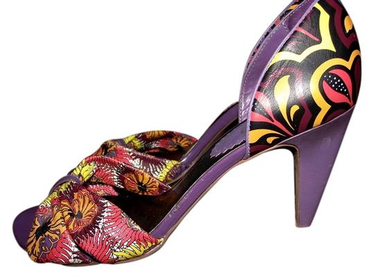 Charles by Charles David Purple Sandals