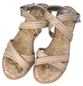 Sam Edelman Natural Sandals