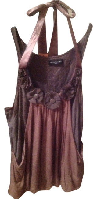Preload https://item1.tradesy.com/images/metropark-brown-and-grey-night-out-top-size-6-s-4186165-0-0.jpg?width=400&height=650