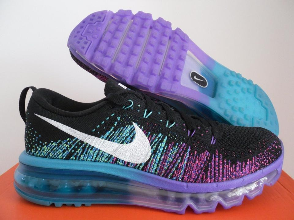 7359672ea6 Nike Nike Flyknit Air Max 2014 -BRAND NEW IN BOX - BLACK/PURPLE VENOM.  12345678910