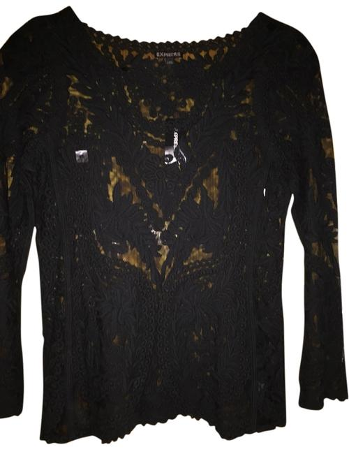 Preload https://item1.tradesy.com/images/express-black-night-out-top-size-0-xs-4186285-0-0.jpg?width=400&height=650