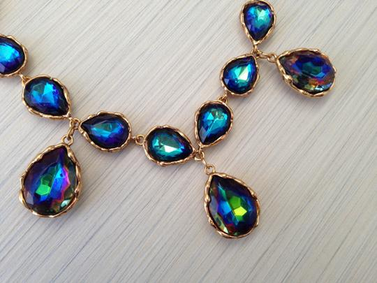 Oscar de la Renta Iridescent Necklace