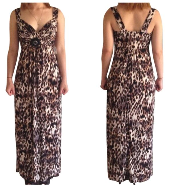 Preload https://item1.tradesy.com/images/brown-leopard-long-casual-maxi-dress-size-4-s-4186765-0-0.jpg?width=400&height=650