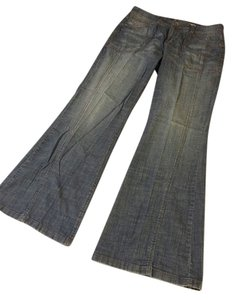 DKNY Flare Leg Jeans-Light Wash