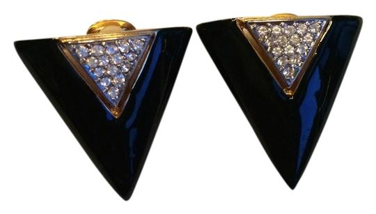 Preload https://img-static.tradesy.com/item/4186990/black-triangle-and-rhinestones-clip-on-earrings-0-0-540-540.jpg