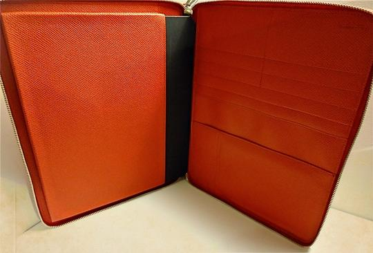 Dolce&Gabbana Authentic Dolce & Gabbana Red Stamped Leather iPad Case Made in Italy