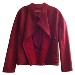 J Brand Red Leather Jacket