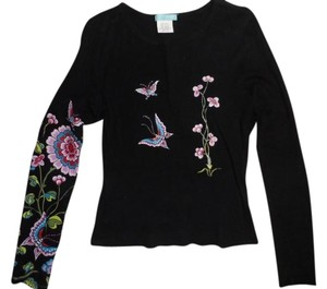 Delia's Butterfly Top Black