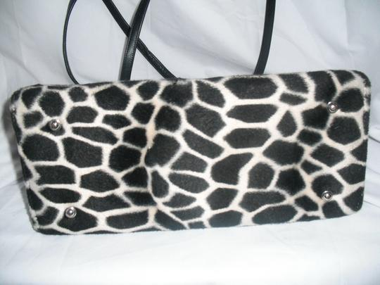 Kate Spade Faux Fur Giraffe Sam With Tab Shoulder Bag