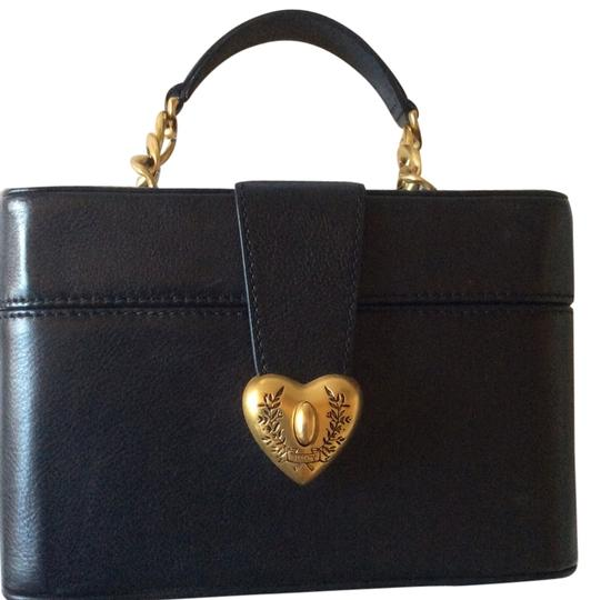 Juicy Couture Handbag Leather Tote in Black