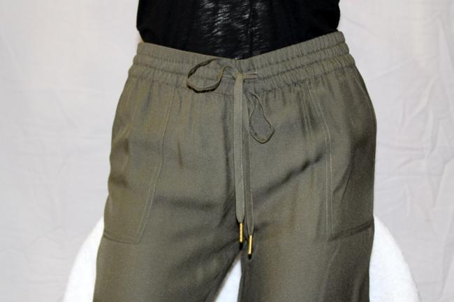 Joie Relaxed Pants fatigue olive green