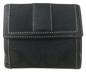 Coach Coach black signature wallet