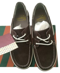 Original Penguin by Munsingwear Mens Suede Brown Athletic