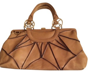Nicole Miller Satchel in Tan