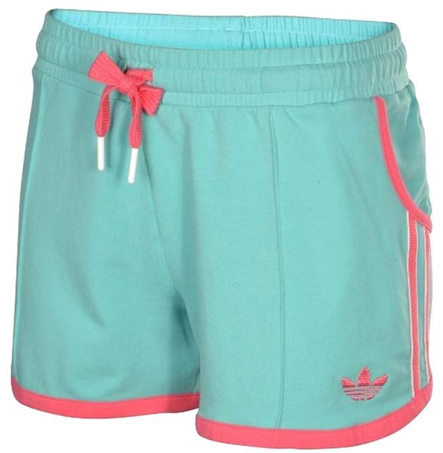 adidas Summer Shorts Green and pink