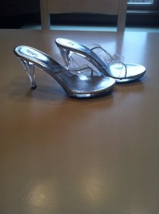 Life Stride Clear Pumps