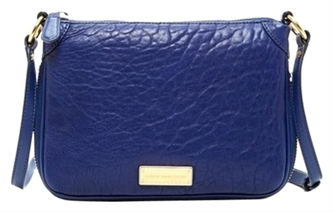 Marc by Marc Jacobs Blue Depths Leather Cross Body Bag Marc by Marc Jacobs Blue Depths Leather Cross Body Bag Image 1