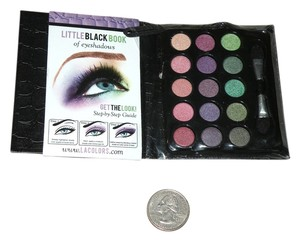 L.A. Colors L.A. Colors Little Black Book of Eyeshadows Mini Travel Palette GLAM Edition