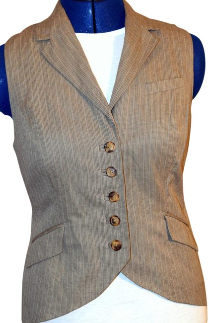 Item - Taupe/Gold #175/Liverpool (Nwt) Vest Size 8 (M)